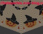 Patron en tissage danois d'une citrouille d'halloween : Tutoriels de fabrication par babezaza