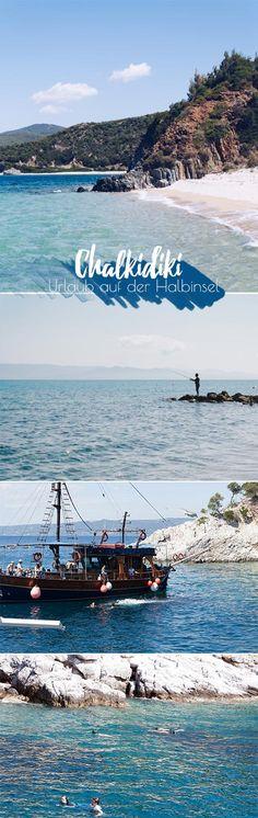 Urlaub auf der Halbinsel Chalkidiki in Griechenland. Reisebericht meines Urlaubs, es gibt sehr viel Meer!