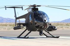 MD 500 Helicopter