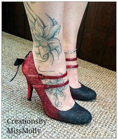 Glitter scarpe Scarpe sposa scarpe su misura scarpe da