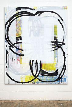 Stuart Cumberland - CMYK4C195, 2010 / Oil on linen / 195 x 160 cm
