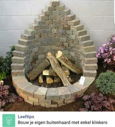 The BEST DIY Garden Ideas and Amazing Projects Stack Pavers to make a Firepit.these are awesome DIY Garden & Yard Ideas! The BEST DIY Garden Ideas and Amazing Projects Stack Pavers to make a Firepit.these are awesome DIY Garden & Yard Ideas! Brick Projects, Backyard Projects, Outdoor Projects, Garden Projects, Backyard Ideas, Diy Projects, Firepit Ideas, Firepit Design, Project Ideas