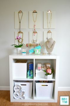 Stella Dot Jewelry Storage Expedit Kallax ikea bookcase spring 2016 collection