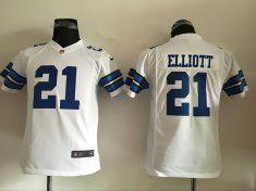 Youth Dallas cowboys 21 Elliott White 2016 Nike Jerseys
