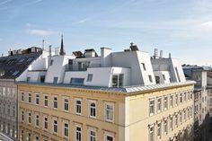 PPAG architects | Aticos en un edificio del siglo XIX de la Radetzkystrasse | Viena, Austria | 2012