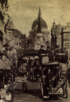 London General Omnibus Company Limited - the sign on the back of the omnibus reads 'Whitechapel' - could one of these passengers be Jack the Ripper? - photo courtesy of Julia Powell. Victorian London, Vintage London, Old London, London City, London Street, Victorian Era, London 1800, London History, British History