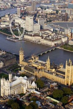 London From Above...I am so lucky to have been here!