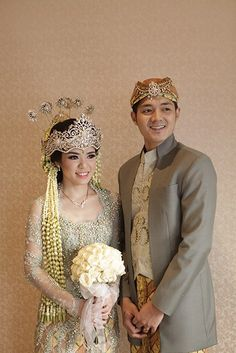 21 Unique Wedding Dresses Fit And Flare Kebaya Wedding, Muslimah Wedding Dress, Javanese Wedding, Indonesian Wedding, Wedding Poses, Wedding Attire, Wedding Dresses, Traditional Wedding, Traditional Dresses
