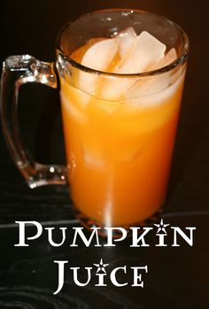 A recipe for Harry Potter pumpkin juice that can fit into the raw food lifestyle.