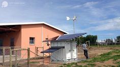 Off Grid Box in South Africa -  La Fabbrica del Sole + Oxfam Italia