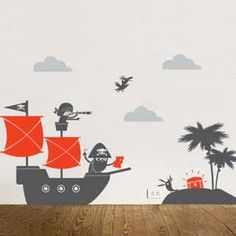 Wall Decals - pirates | Items for kids | Animi Causa Boutique