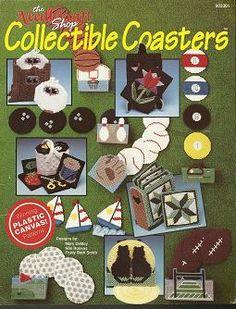 free plastic canvas coaster patterns   COLLECTIBLE COASTERS ©1990 PLASTIC CANVAS PATTERNS FREE S by ...