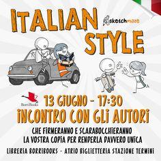 Ci vediamo il 13 giugno presso la libreria BorriBooks a Termini. Non mancate :)