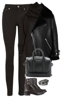 """""""Untitled #485"""" by flowercalder ❤ liked on Polyvore featuring Acne Studios, Givenchy, Forzieri and Yves Saint Laurent"""