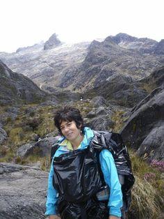 En el ascenso al Humboldt, la segunda montaña más alta de Venezuela.
