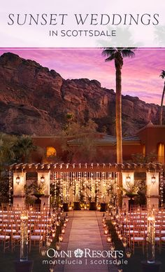 Make your special day unforgettable at the Omni Scottsdale Resort & Spa at Montelucia.