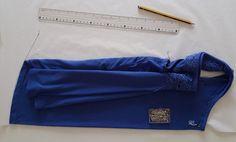 Szabásminta másolása kész ruháról - K3 Sewing Studio