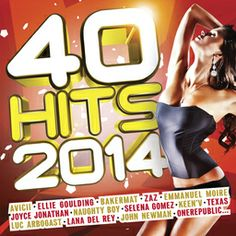 40 Hits 2014, ce sont tous les tubes incontournables de la fin d'année avec Stromae, Vitaa, Avicii, Keen'V, Capital Cities, Naughty Boy, DVB...