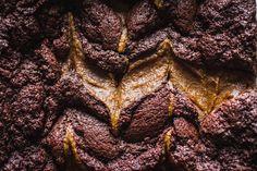 Pumpkin Spice Swirl Brownies | edibleperspective.com #fall #glutenfree