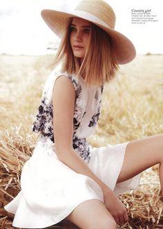 Vogue AUS - December 2012  Bally Dress
