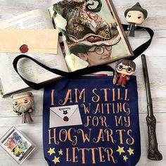 Still waiting for your Hogwarts letter? . . Tote bag by @nextpagecreations It comes in white or your choice of Hogwarts house color! Click the link in my link tree to check out this design and more in her Society 6 shop! . . Sorting Hat soap by @behindthepagesstore when you use the soap the top coating washes away to reveal your house color! How cool is that?! Check out the shop (link in my linktree) and you can use code BECCA10 to save 10% on your order . #lilfavoritethings - #openbook…