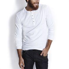 Soldes - T-shirt tunisien Blanc homme – la mode homme sur Jules.com