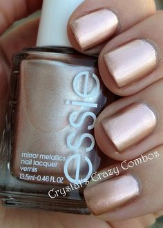 Crystal's Crazy Combos: Essie - Penny Talk and CrowsToes - Bunny Slope crystalscrazycombos.blogspot.com