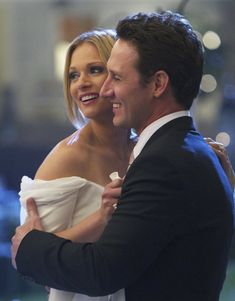 "The wedding of JJ (AJ Cook) and Will (Josh Stewart) on ""Criminal Minds"" (2012)."