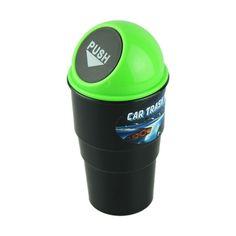 NEW car garbage can Car Trash Can Garbage Dust Case Holder Bin car-styling #CARPRIE