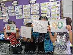 Rounding - Students have to find their rounding partner