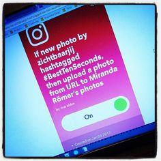 Even een test zodat m'n automatisch op m'n Facebook verschijnen. Een beetje automatiseren is tenslotte wel fijn! #ifttt #test