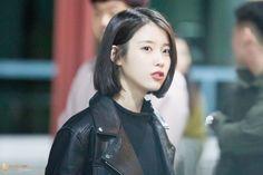 2019년 12월 29일 14시 45분 작성 - 💙 Iu Short Hair, Short Hair Styles, Her Music, Korean Singer, Hair Inspiration, My Girl, Hair Cuts, Hair Color, Hair Beauty