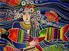 """Enlightenment does not care how you get there.""     ~ Thaddeus Golas  Artist:  Laurel Burch  ♥ lis"