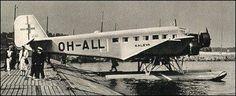 Junkers Ju52 Float plane version.