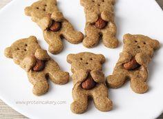 Almond Butter Teddy Bear Cookies