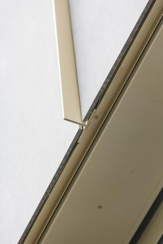HUB architects. EQUITONE panel facade. Joint detail with copper T profile. equitone.com