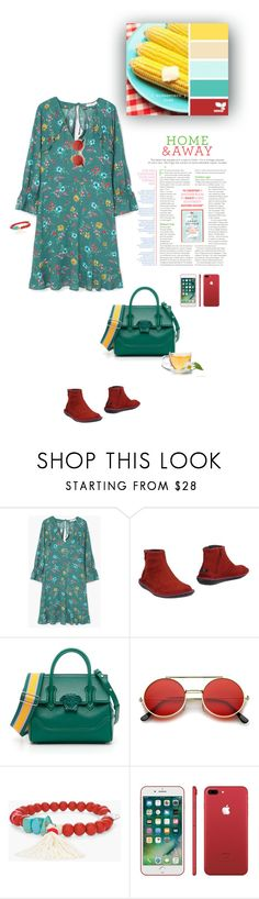 """1541"" by m-lane ❤ liked on Polyvore featuring MANGO, Camper, Versace and Chico's"