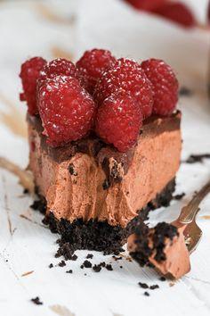 No bake Chokladcheesecake Key Lime Cheesecake, Fika, Dessert Recipes, Desserts, Oreo, A Food, Food Photography, Goodies, Sweets