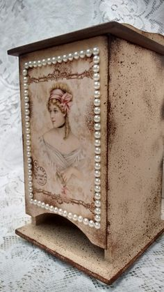 Porta absorvente vintage