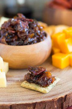 Whiskey Maple Bacon Jam – Dan330