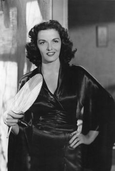 Jane Russell in a publicity still for Macao (1952)