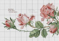 Cross Stitch Cards, Cross Stitch Rose, Cross Stitch Flowers, Cross Stitch Embroidery, Cross Stitch Patterns, Cross Stitch Landscape, Rico Design, Small Flowers, Needlepoint