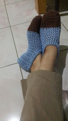 My blue sleepers #with manka handmade