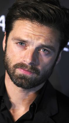 So hot and sexy! 🔥 🔥 🌶 🌶 i stan, seb stan sebastian stan, sabastian st Bucky Barnes, Sebastian Stan, Chris Evans, Steel Blue Eyes, James Barnes, Winter Soldier Bucky, Widowmaker, Sexy, Actrices Hollywood