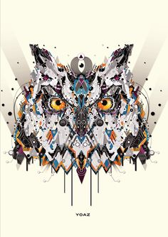 Animal Illustrations: High Tech or Tribal?