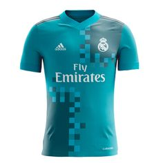 17/18 adidas Real Madrid Third Jersey