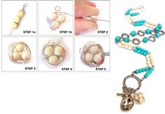 Tutorials | Long Bird Nest Necklace | Handmade Fashion Jewellery – Devoted to DIY Jewellery