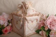 Angel Cake Embroidered Tote Bag - from Faeries in my Garden