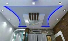 Blue Plaster Ceiling Design, Gypsum Ceiling Design, House Ceiling Design, Ceiling Design Living Room, Bedroom False Ceiling Design, False Ceiling Living Room, Ceiling Light Design, Modern Ceiling, Bedroom Wall Designs