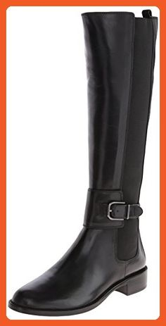 Via Spiga Women's Bufu Riding Boot,Black,7.5 M US - Boots for women (*Amazon Partner-Link)
